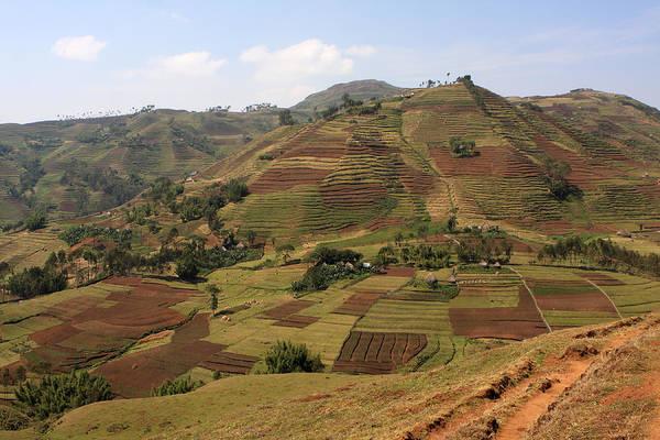 Photograph - Guge Mountain Range, Ethiopia by Aidan Moran