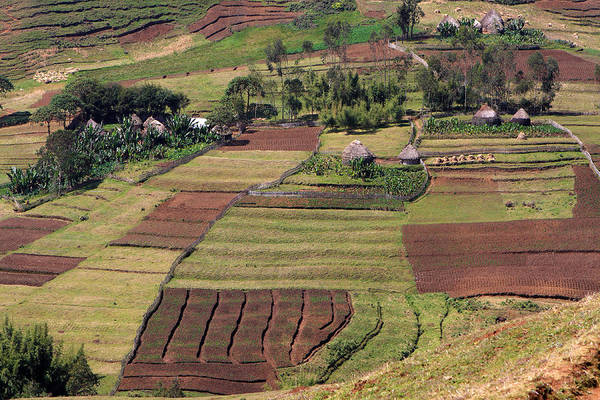 Photograph - Guge Mountain Range Ethiopia by Aidan Moran