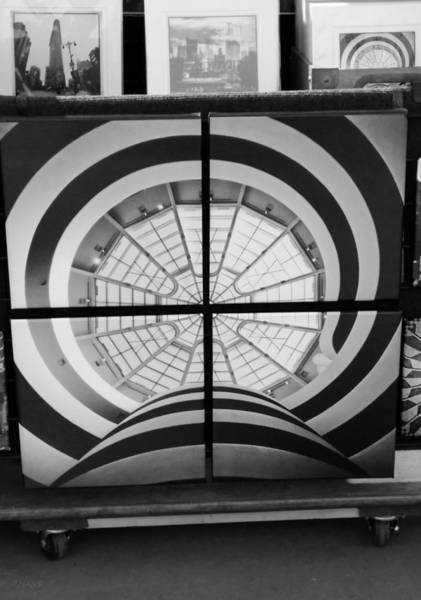 Photograph - Guggenheim In Quarters B W by Rob Hans