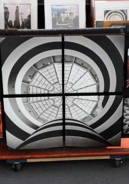 Photograph - Guggenheim In Quarters by Rob Hans