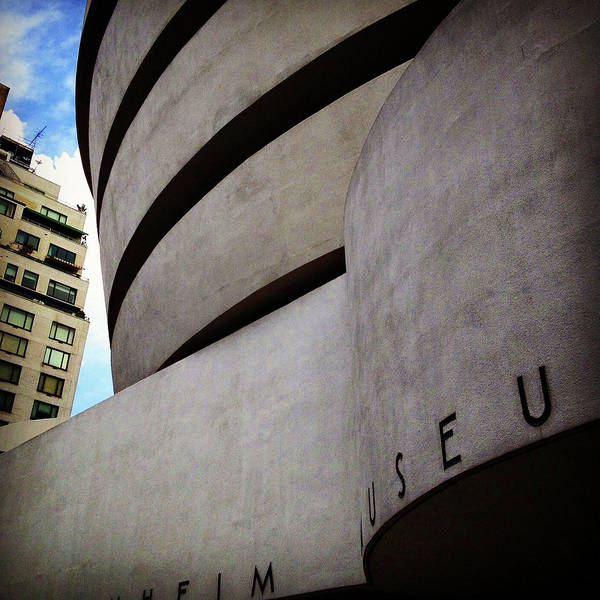 Photograph - Guggenheim Museum Exterior by Patrick Malon