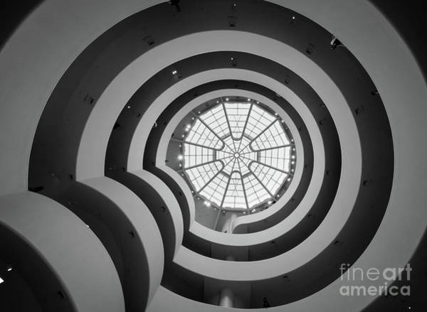 Stairs Wall Art - Photograph - Guggenheim Museum by Inge Johnsson