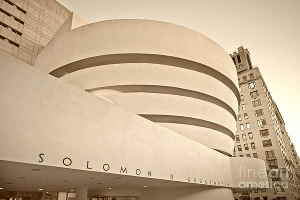 Photograph - Guggenheim Museum by Juergen Held