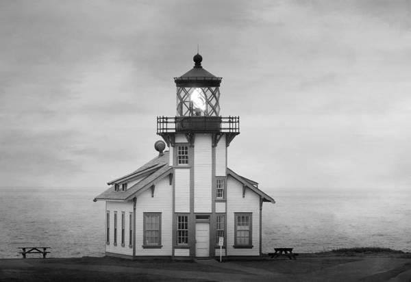 Cabrillo Photograph - Guiding Light 2 by Fraida Gutovich