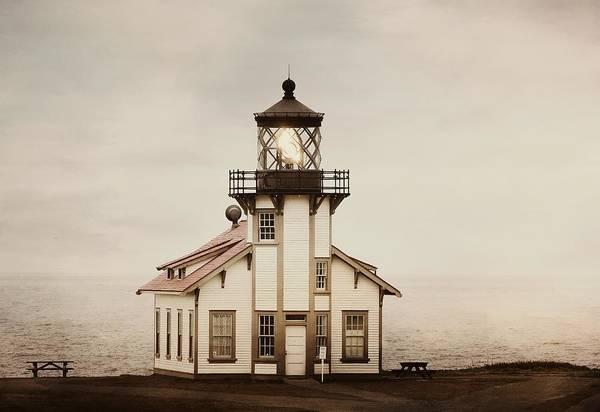 Cabrillo Photograph - Guiding Light 3 by Fraida Gutovich