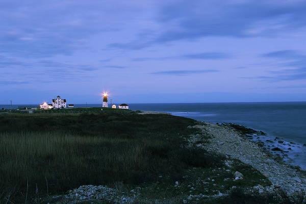 Narragansett Photograph - Guiding Light by Andrea Galiffi