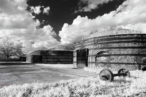 Photograph - Guignard Kilns In Infrared by Charles Hite