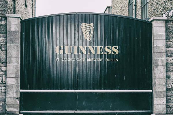 Photograph - Guinness St James Gate Brewery Dublin by Georgia Fowler
