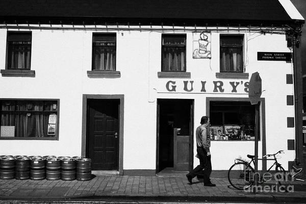 Wall Art - Photograph - Guirys Irish Pub Foxford County Mayo Ireland by Joe Fox