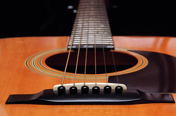 Photograph - Guitar 12 by Andee Design