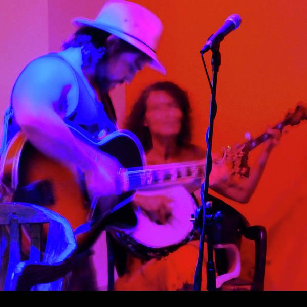 Photograph - Guitar And Banjo by Rosanne Licciardi