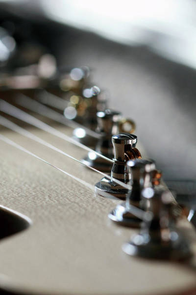 Photograph - Guitar by Angela Murdock