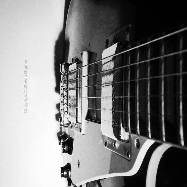 Old Wall Art - Photograph - The Guitar  by Steven Digman