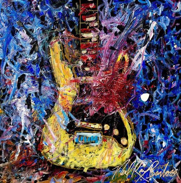 Painting - Guitar Hero 9 by Neal Barbosa