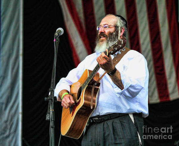 Jewish Music Wall Art - Photograph - Guitar Live Music Central Park Ny by Chuck Kuhn