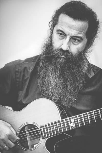 Photograph - Guitar Player by Sotiris Filippou