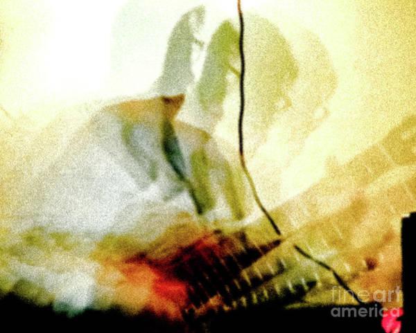 Guitar Player Art Print