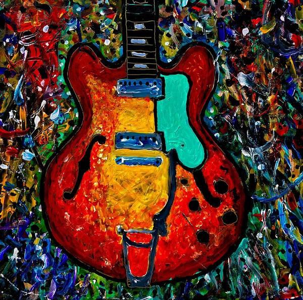 Painting - Guitar Scene by Neal Barbosa