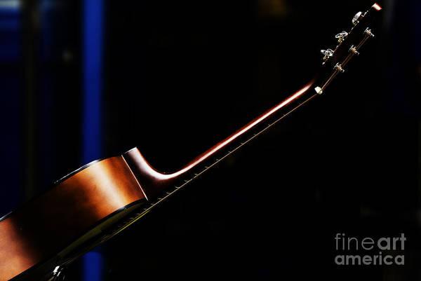 Guitar Photograph - Guitar by Sheila Smart Fine Art Photography