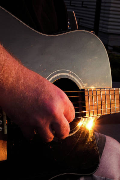 Photograph - Guitar by Sue Conwell