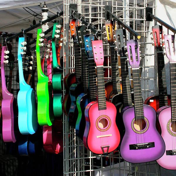 Indio Photograph - Guitar World Coachella by William Dey