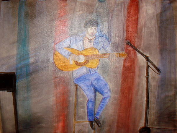 Painting - Guitarrist by Felix Zapata