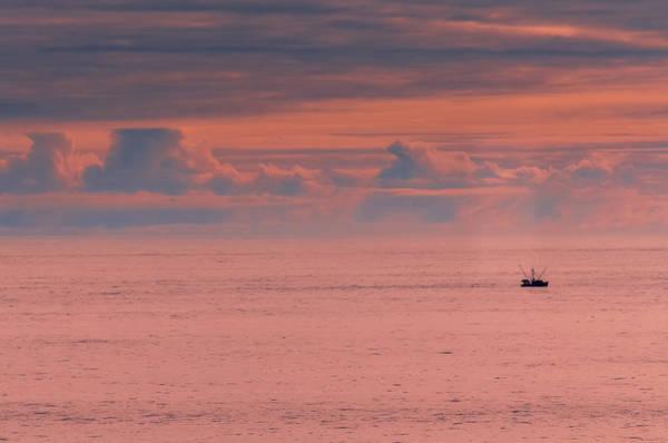 Gulf Of Alaska Photograph - Gulf Of Alaska Sunset  by SharaLee Art