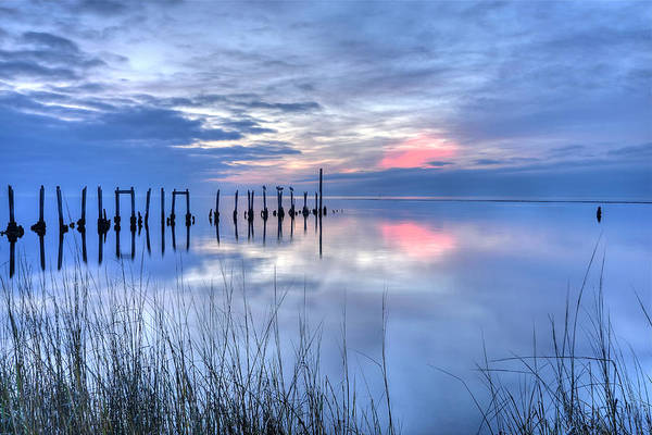 Photograph - Gulf Reflections by Don Mercer