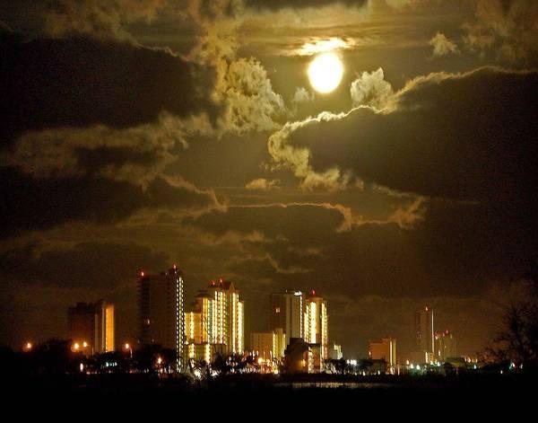 Painting - Gulf Shores Night Skys by Michael Thomas