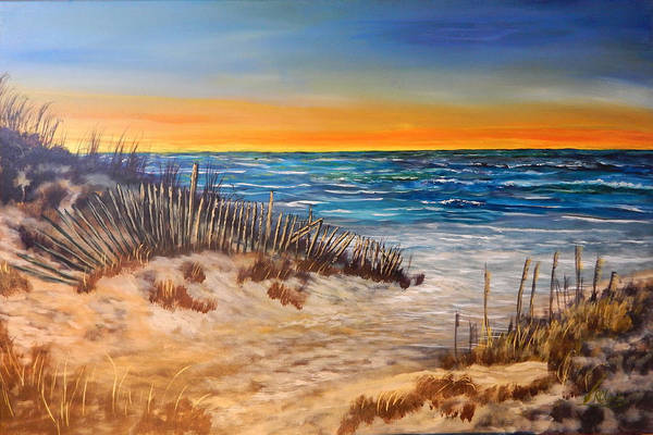 Gulf Shores Alabama Painting - Gulf Shores by Robert Clark