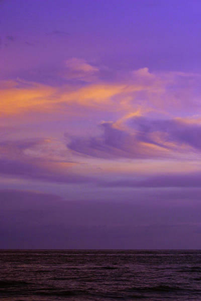 Photograph - Gulf Storm In Amethyst And Orange 2567 H_2 by Steven Ward