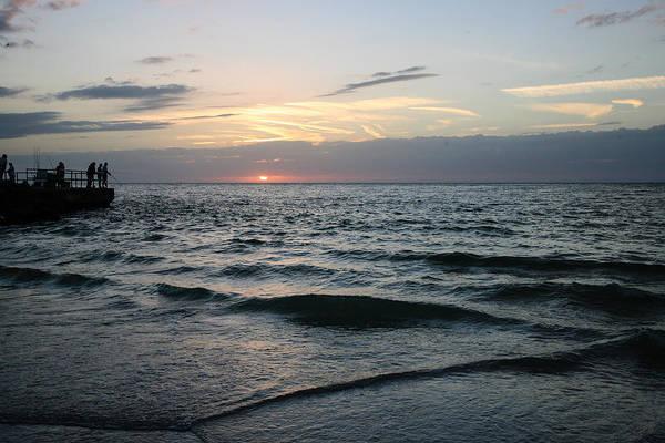 Willett Photograph - Gulfport Fishing Pier by Mike Willett
