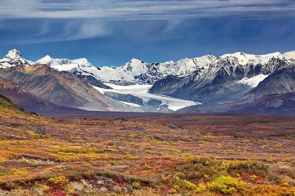 Photograph - Gulkana Glacier by Ed Boudreau