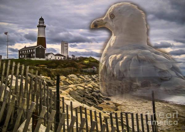 Digital Art - Gull Point 2015 by Kathryn Strick