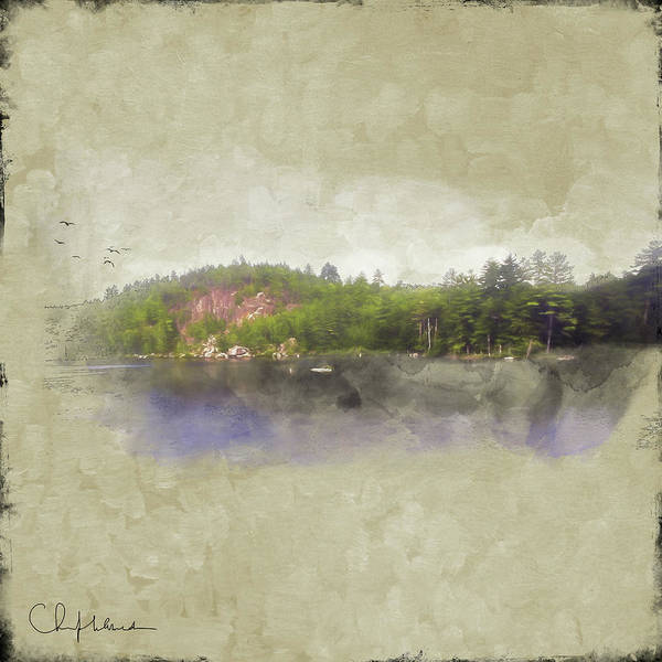 Adirondack Mountains Digital Art - Gull Pond by Christopher Meade