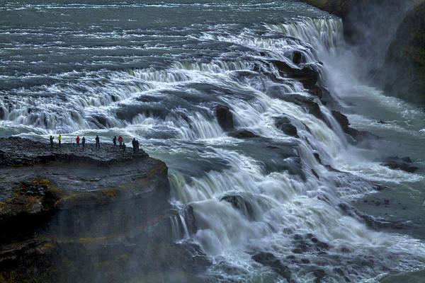 Gullfoss Waterfall #6 - Iceland Art Print