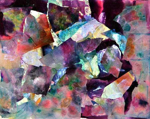 Emanate Painting - Gum Drops by Don  Wright
