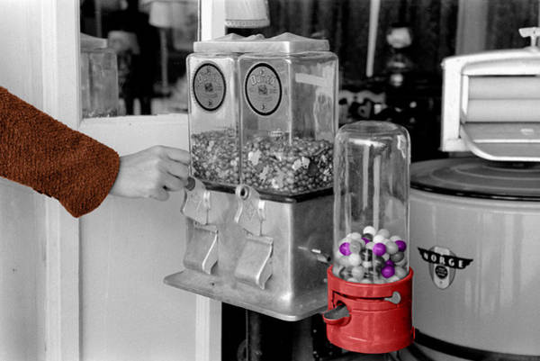 Photograph - Gumball Machine by Andrew Fare