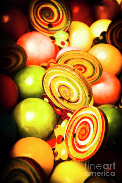 Bright Photograph - Gumdrops And Candy Pops  by Jorgo Photography - Wall Art Gallery