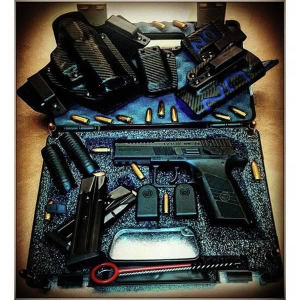 Handguns Photograph - Gun Fun  #czech #handguns #guns by CaESaR ZN
