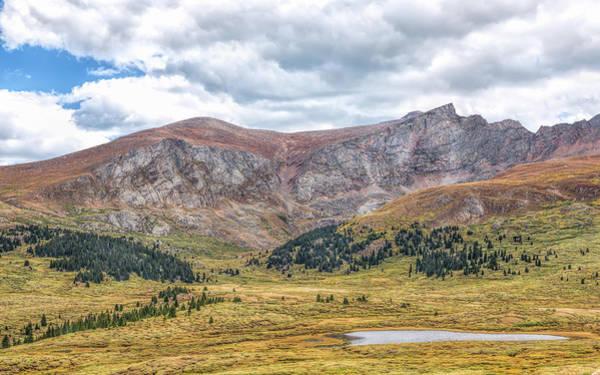 Photograph - Guanella Pass Vista by John M Bailey