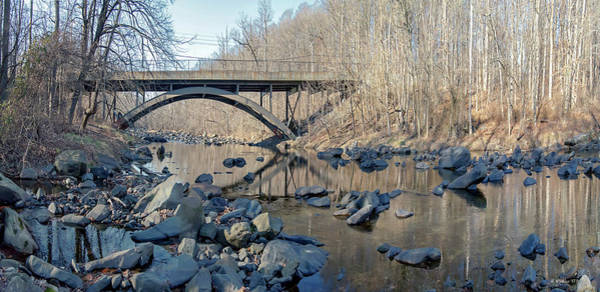 Wall Art - Photograph - Gunpowder Falls St Pk Bridge - Pano by Brian Wallace