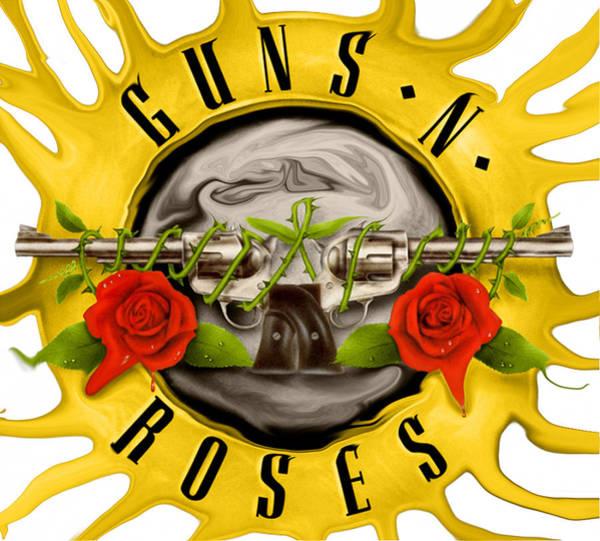 Guns And Roses Wall Art - Photograph - Guns And Roses by Michael Stout