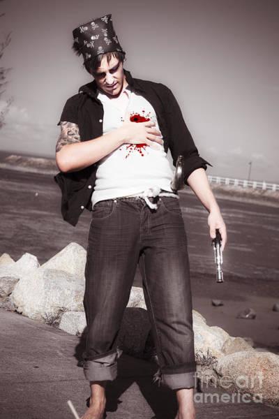 Photograph - Gunshot Wound by Jorgo Photography - Wall Art Gallery