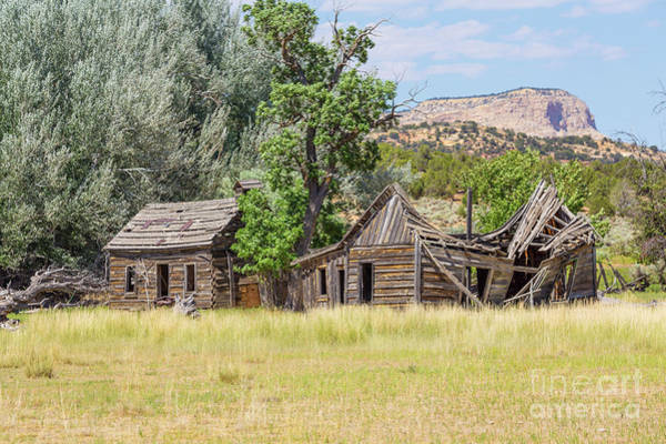 Wall Art - Photograph - Gunsmoke Tv Western Set Near Kanab Utah by Edward Fielding