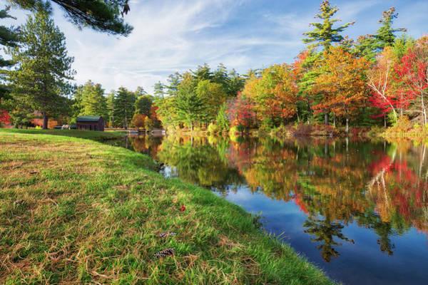 Photograph - Gunstock Pond by Robert Clifford