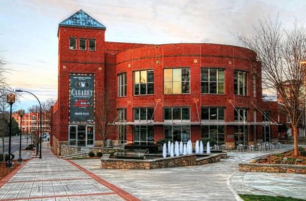 Photograph - Gunter Theater At The Peace Center, Greenville South Carolina by Carol Montoya