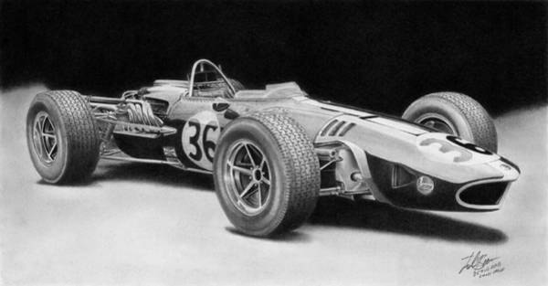 Wall Art - Drawing - Gurney Weslake by Lyle Brown