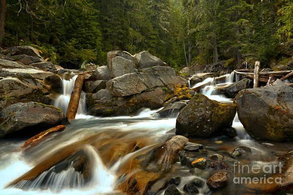 Photograph - Gushing Down Van Trump Creek by Adam Jewell
