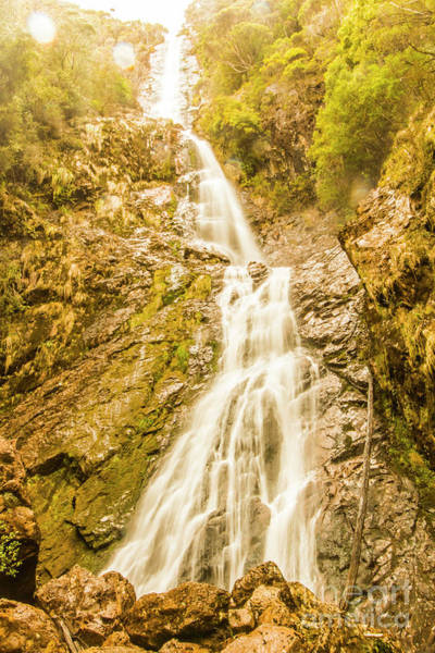 Photograph - Gushing Western Waters by Jorgo Photography - Wall Art Gallery